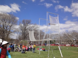 Trapeze equipment and nets